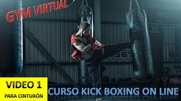 CURSO KICK BOXING ON LINE